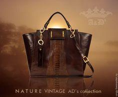 de77f8dfce0b Купить Сумка Vintage Camel-Bird Brown - коричневый, сумка, сумка ручной  работы