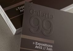 Leaflet with dry relief: a solution to embellish … - Graphic Work