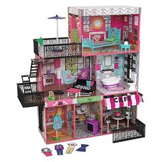 Kidkraft Brooklyn's Loft Dollhouse. Available at Kids Mega Mart online Shop Australia