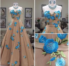2017 Gorgeous Long Strapless A-line High Low Prom