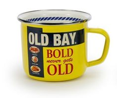 These are great for the outdoor shrimp and crab boil or just a quiet morning at the beach! These mugs are durable and can be used in the oven, on the stove top, under the broiler and on the grill. The steel content makes them unsuitable for microwave use. #cottageandbungalow #enamelware #mug Steel Rims, Home Workout Equipment, Large Tray, Soup Mugs, Swirl Pattern, Serveware, Mugs Set, Safe Food, Coffee Mugs