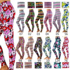 New Fashion Women's Pattern Print Stretch Leggings Tights Pants Summer 12 Styles Girls In Leggings, Tight Leggings, Pattern Print, Print Patterns, New Fashion, Womens Fashion, Printed Leggings, What I Wore, Stylish