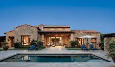 casas estilo mediterraneo