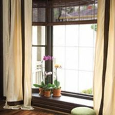 Bay Window Coverings {window fashions} - Tip Junkie