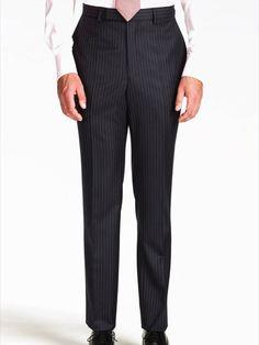Classic Pinstripe Suit Trouser