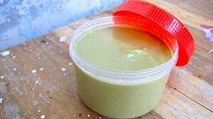 Homemade Natural Hair Cleanser & Conditioner | Life of Coconuts| Conditioner: 1/2 c Green Tea, 1 Tbsp Coconut Oil, 1/4 c Aloe Vera Gel, 1 lg Avocado, 2 Tbsp Ginger, 1 tspn Sesame Oil, Optional: 1 tspn essential oils
