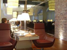 (new) Eurostar Business Premier Lounge St Pancras London by garybembridge, via Flickr