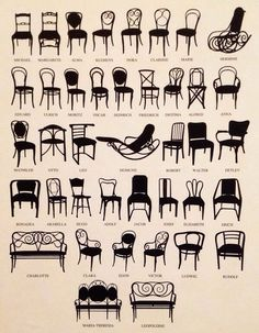 Chair Family by Michael Thonet