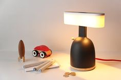 dina, a lamp making you conscious of the value of light, by MOAK studio