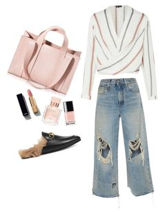 Sofie's daily by sylvia-shrj on Polyvore featuring polyvore, fashion, style, R13, Gucci, Corto Moltedo, Chanel, Maison Francis Kurkdjian and clothing