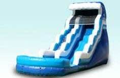 Tsunami Large Water Slide by Cape Cod Inflatable Rentals - $375