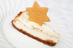 Pepperkakeostekake #cheesecake #gingerbread #baked #cream_cheese #kremost #silketofu #silken_tofu #vanilje #vanilla #sitron #lemon #sour_cream #roemme