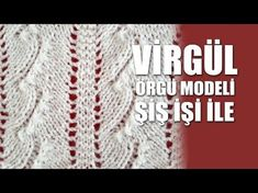 ÜST ÜSTE KALPLER ( kaynana öremez gelin giyemez )Örgü Modeli - Şiş İşi İle Örgü Modelleri - YouTube