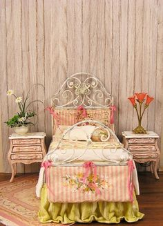 Ladies Boudoir 1 (A Little Bit Country bed by Maritza Moran)