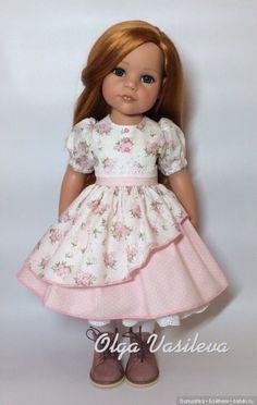 Нужна помощь / Одежда и обувь для кукол своими руками / Бэйбики. Куклы фото. Одежда для кукол Sewing Barbie Clothes, Ag Doll Clothes, Doll Clothes Patterns, American Girl Dress, American Girl Clothes, Dresses Kids Girl, Kids Outfits, Baby Dress Design, Girl Dolls