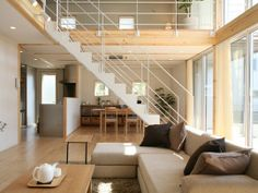 Two New Designs Join Muji Prefab Home Line Home Interior, Interior Architecture, Interior Design, Oakland House, Muji Home, Japanese Apartment, Japanese Interior, Prefab Homes, Japanese House