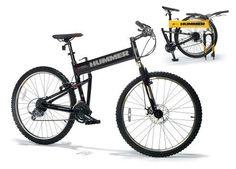 Hummer mountain bike.