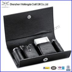leather double edge safety razor travel razor in leather case black pu leather cover #Straight_Razor, #case
