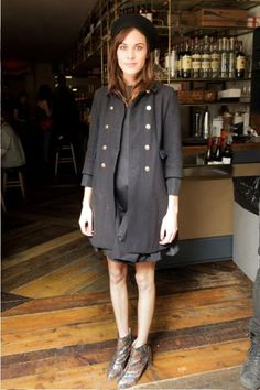 Alexa last night at the The Byrne Notice 1st Anniversary party at The Leadbelly, NYC