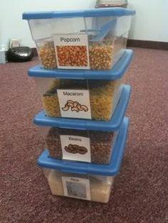 sensory boxes