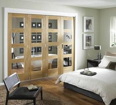 Would love these gorgeous Room Fold doors from JELD-WEN in my house - if only I had the space to put them in!