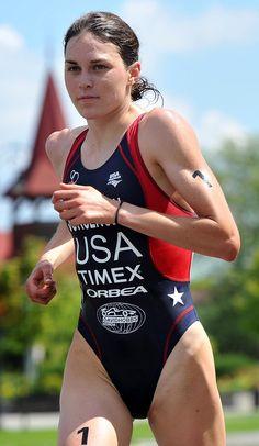 Gwen Jorgensen - American triathlete