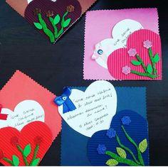 Mothers Day Crafts, Valentine Day Crafts, Happy Mothers Day, Valentines, Kindergarten Activities, Activities For Kids, Crafts For Kids, 3d Cards, Digital Art Girl