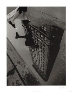 Flat Iron Reflection by Christopher Bliss