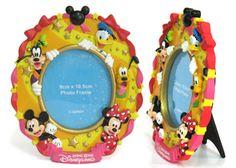 China OEM Disney Goofy Mickey Resin Photo Frame Manufacturer