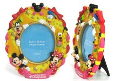 China OEM Disney Goofy Mickey Resin Photo Frame Manufacturer