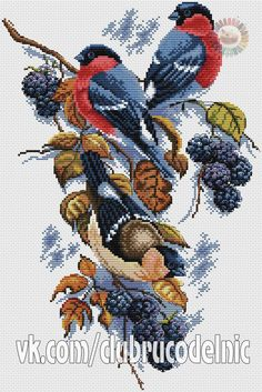 Tigers at the Waterhole Chart DIY Counted Cross Stitch Patterns Needlework