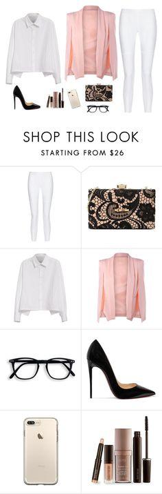 """Fashion boss"" by monika1555 on Polyvore featuring 10 Crosby Derek Lam, Love Moschino, Y's by Yohji Yamamoto, Christian Louboutin and Laura Mercier"