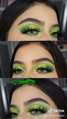 Makeup Eye Looks, Eye Makeup Art, Day Makeup, Eyeshadow Makeup, Beauty Makeup, Eyeshadows, Pale Skin Makeup, Colorful Eye Makeup, Makeup For Green Eyes