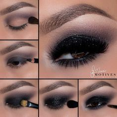 Check out this Black Glitter pictorial for Halloween by Ely Marino using…