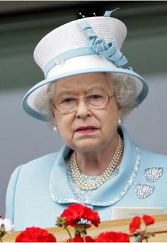 Queen Elizabeth, June 18, 2010 in Angela Kelly | Royal Hats.....Posted on May 23, 2014 by HatQueen