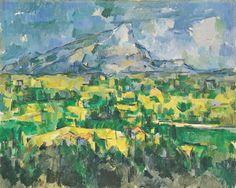 Paul Cezanne Mont Sainte Victoire | Paul Cézanne. Mont Sainte-Victoire. 1902-04