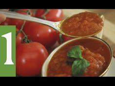 O Verdadeiro Molho de Tomate Italiano | As técnicas e utilizo de utensílios - YouTube