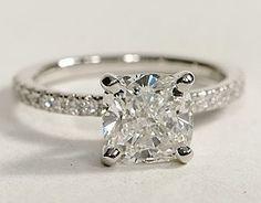 horizontal emerald cut diamond rings - Google Search