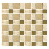 Lepore Travertine with Glass 12 x 12 in