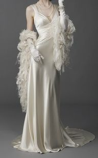 Old Hollywood Wedding Dress