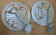 NSFL (not suitable for library) - librarian pasties! - PAPER CRAFTS, SCRAPBOOKING & ATCs (ARTIST TRADING CARDS)