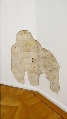 Seriously  its a gorilla right?  Abraham Cruzvillegas - Untitled - 2011