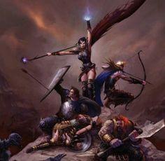 Dragon Age,Dragon Age Origins,concept art,Leliana,Alistair,Zevran,Oghren,Морриган,DA персонажи