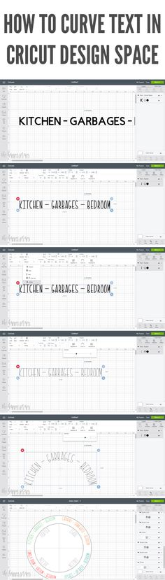 Curved Text in Cricut Design Space is here! Learn how to make this Draw & Cut Chore Chart with Curved Text in Cricut Design Space.