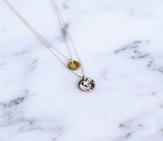 Layered Chain Charm Necklace. You most definitely need one of these! Perfect accessory for any outfit.