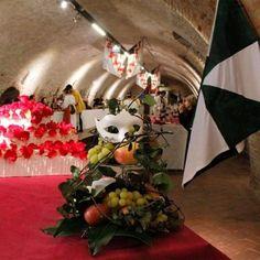 @cenaacorte #igersferrara #igferrara #cenaacorte #ferrara #italy #rinascimento #renaissance #carnevalerinascimentale #entepalio #rinascife2016 photo by Michela zanforlin