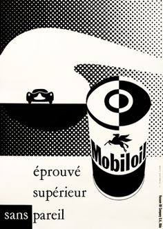 Artist Unknown poster: Mobiloil