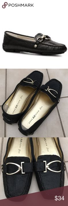 ‼️SALE: Anne Klein iflex loafers shoes Anne Klein iflex loafers shoes. Classic must have for work! Size 7M. Leather upper. Balance man made. Pre owned and pre loved. Deserves a good home with a working woman who's dressed to impress. condition with normal use Anne Klein Shoes Flats & Loafers