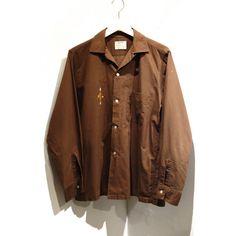 ビンテージ アローオープンカラーシャツ【ARROW】【1960'S】VINTAGE LOOP SHIRTS - RUMHOLE beruf online store