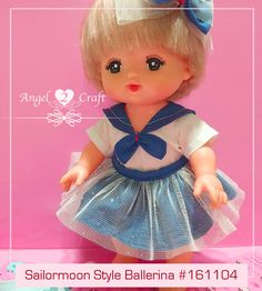 Mell Chan | Sailormoon Style Ballerina #161104 - Angel Loves2Craft